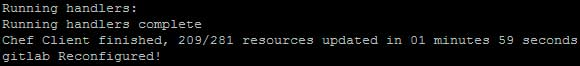 GitLab reconfigurado